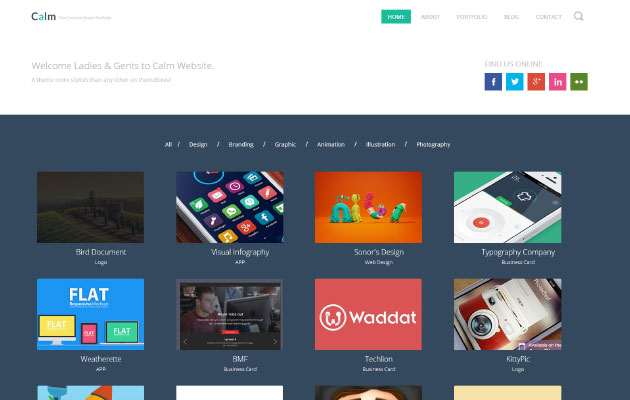 7 FREE HTML5 Templates for Your New Website - Jumix Design