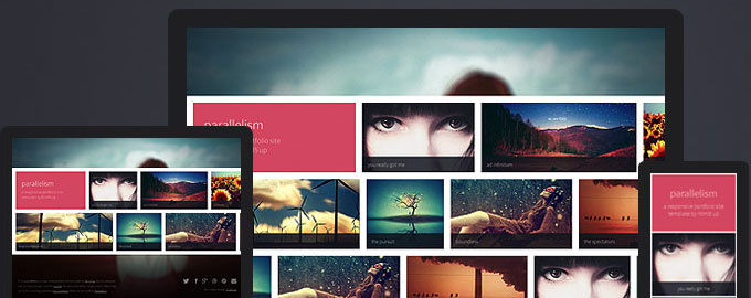 parallelism-html5-template