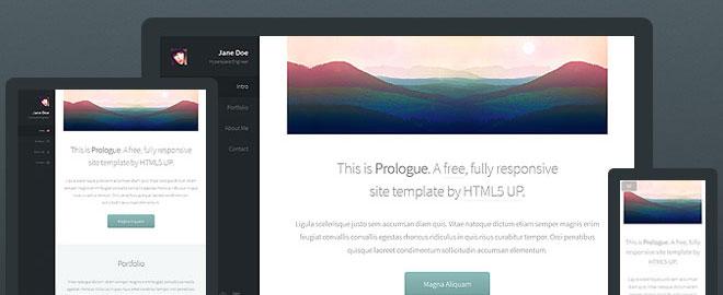prologue-html5-template
