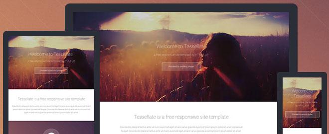 tesellate-html5-template
