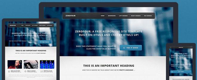 zerofour-html5-template