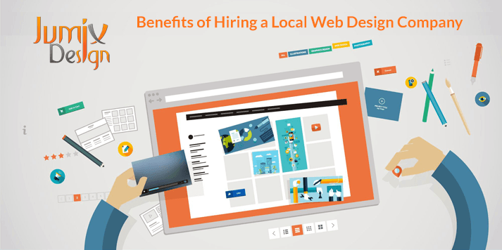 4 Benefits of Hiring a Local Web Design Company