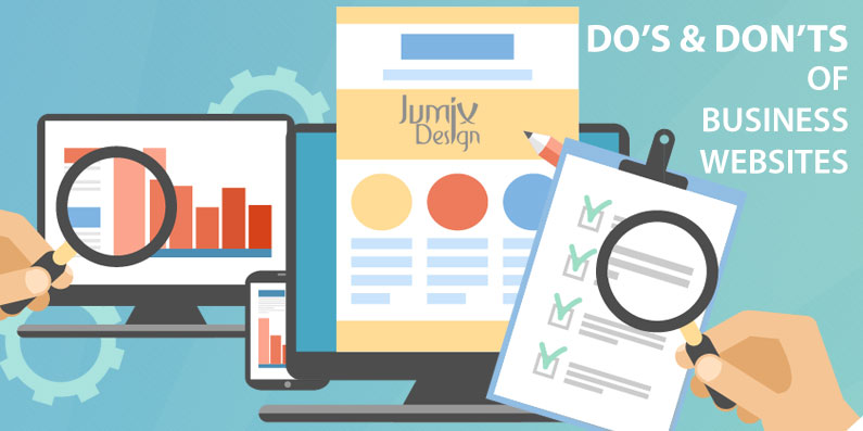 20 Do's and Don'ts for Business Websites