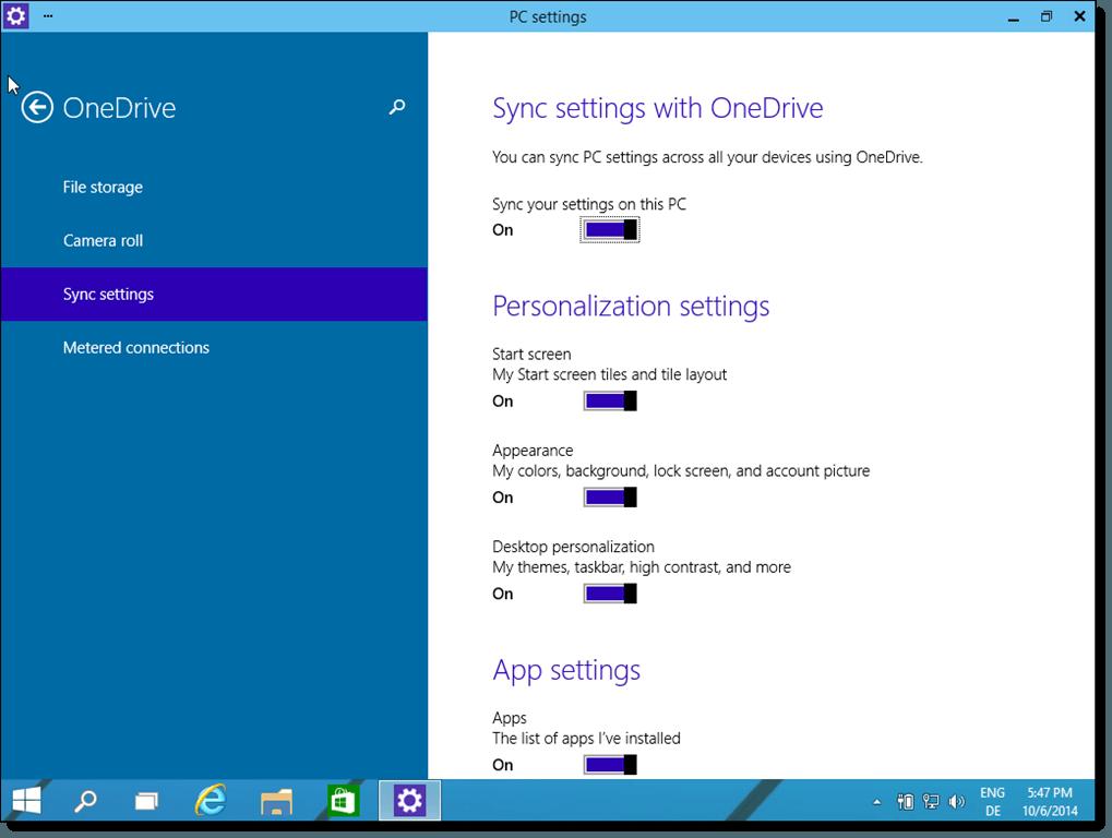 Windows-10-sync-settings