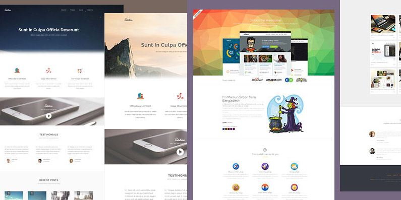 6 Outstanding and Free HTML5 Templates in 2015