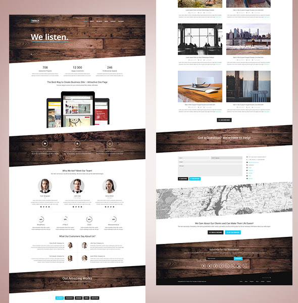 timber-html5-template