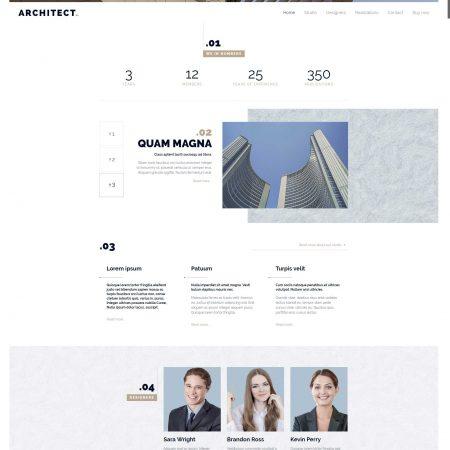 corporate-website-template-architect
