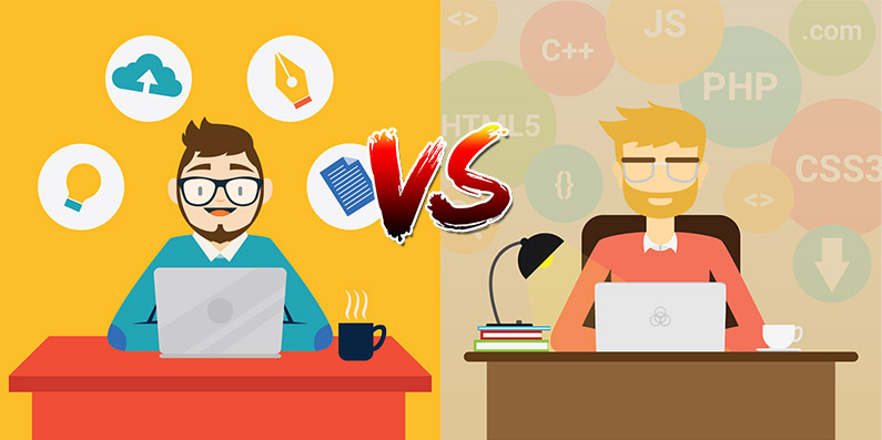 Web Designers and Developers: What Makes The Difference?