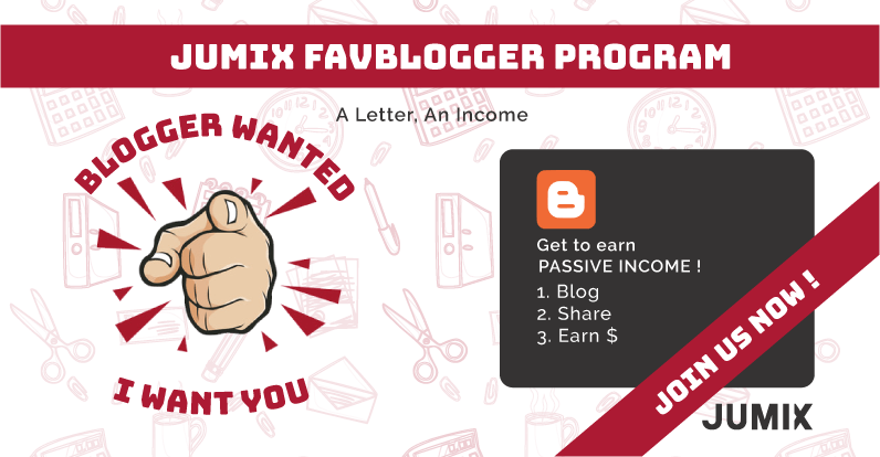 Jumix FavBloggers Program – Bloggers Wanted!