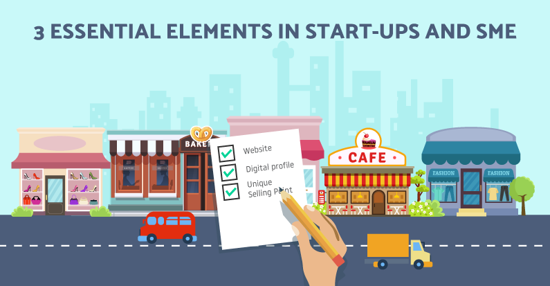 3 Important Must-Have Elements in Start-ups and Small Business