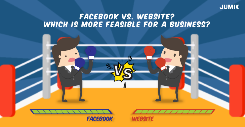 Facebook vs. Website? Which is more feasible for a business?