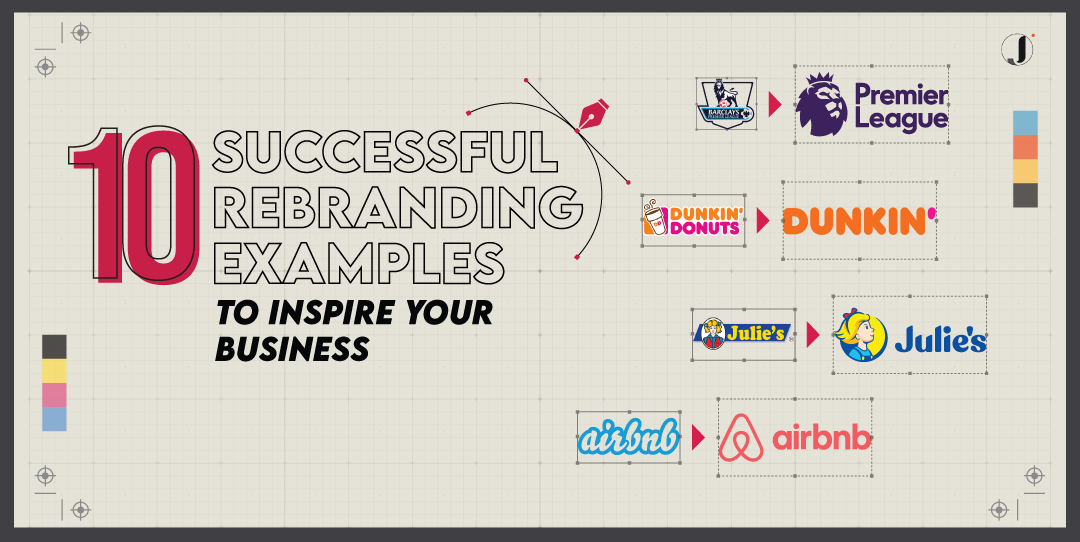 10 Successful Rebranding History to Inspire You