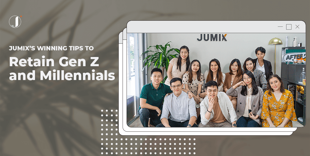 Jumix's Winning Tips to Retain Gen Z and Millennials in Your Company
